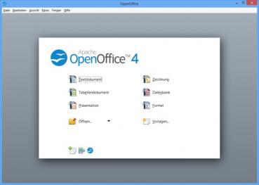 OpenOffice 4.1.6 - Windows 10, 8.1, 8, 7, Vista, XP - Neueste Version 2019